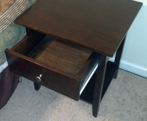 Nightstand Drawer Extended