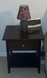 Finished Nightstand