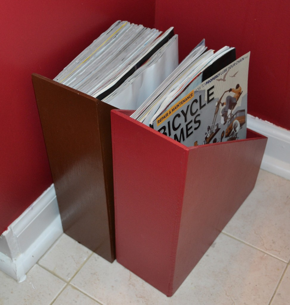 Finished Magazine Holders