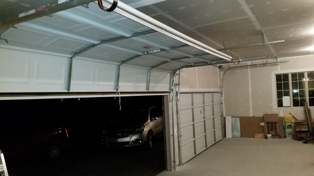 High Garage Door Rails