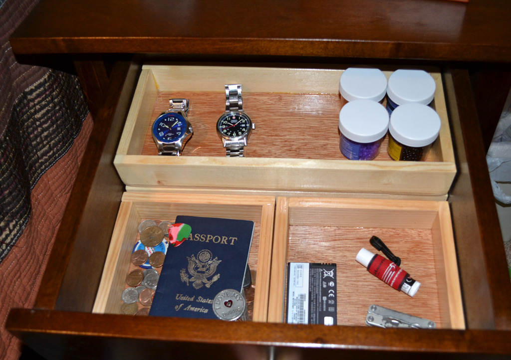 Bryan's Site | Drawer Organizers for Night Stand